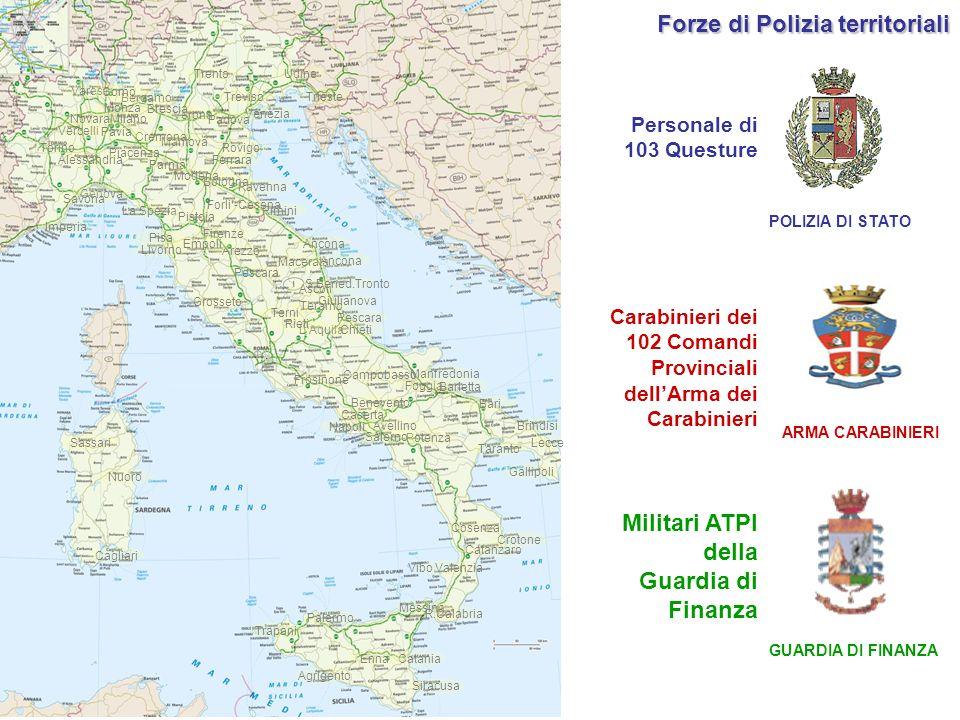 Forze di Polizia territoriali