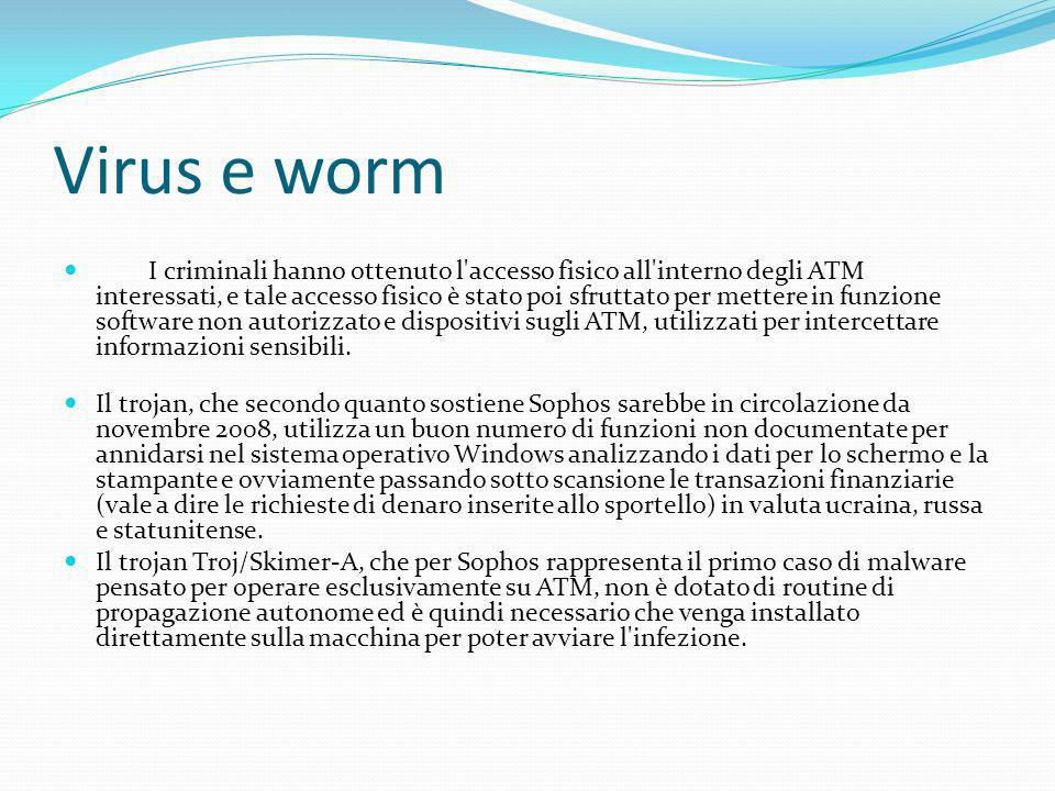 Virus e worm