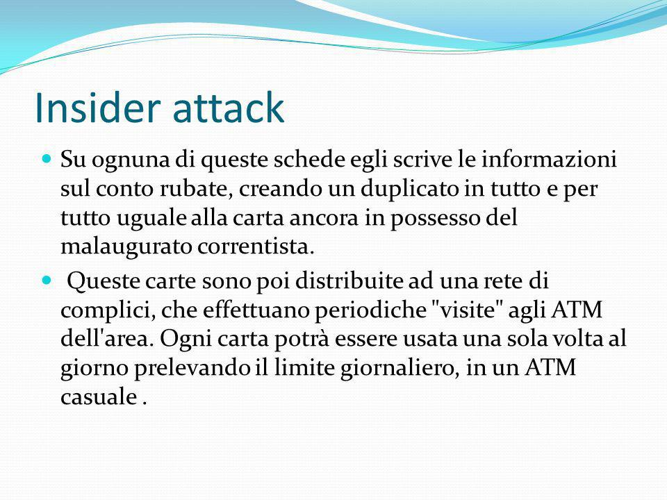 Insider attack