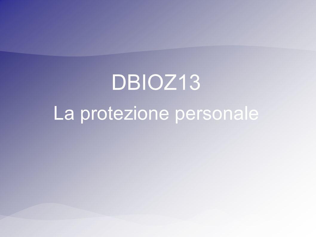 La protezione personale
