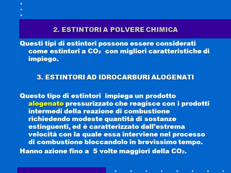 2. ESTINTORI A POLVERE CHIMICA