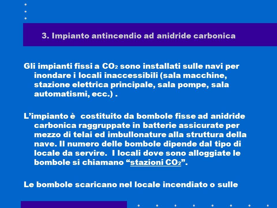 3. Impianto antincendio ad anidride carbonica