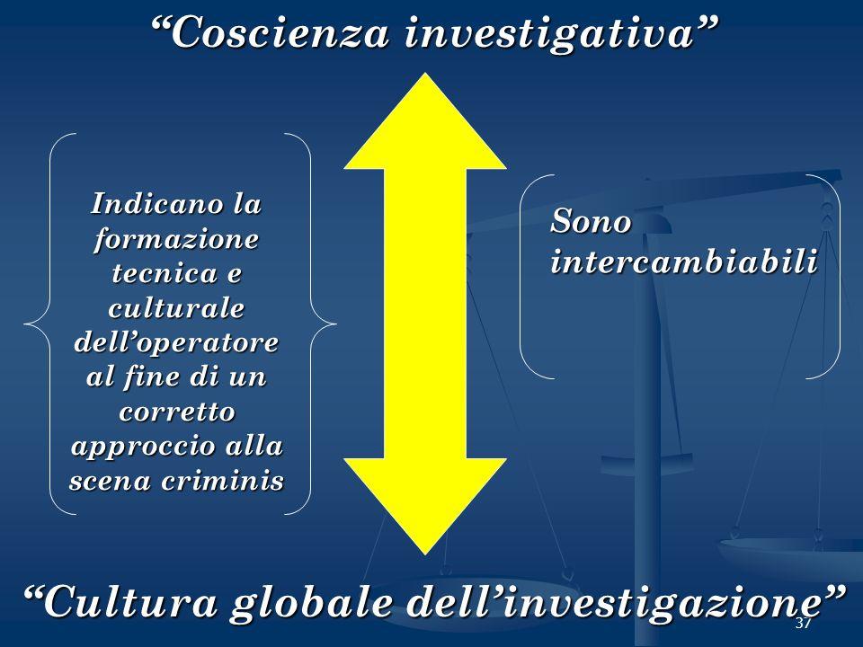 Coscienza investigativa Cultura globale dell'investigazione