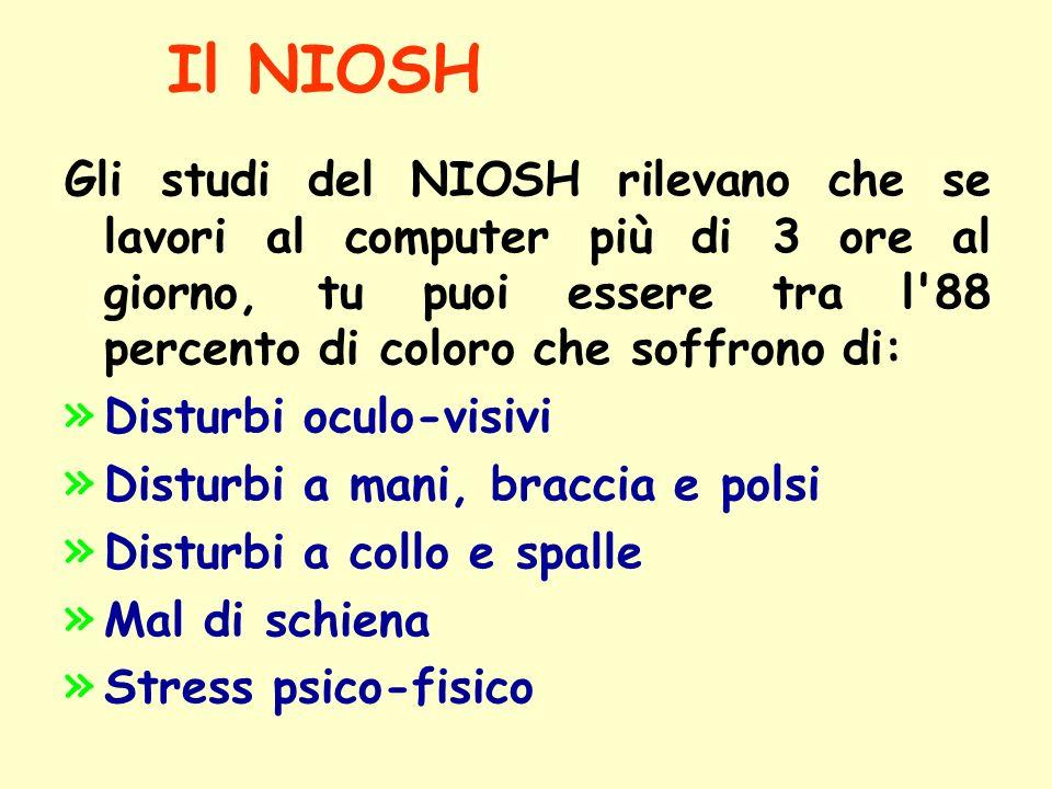 Il NIOSH