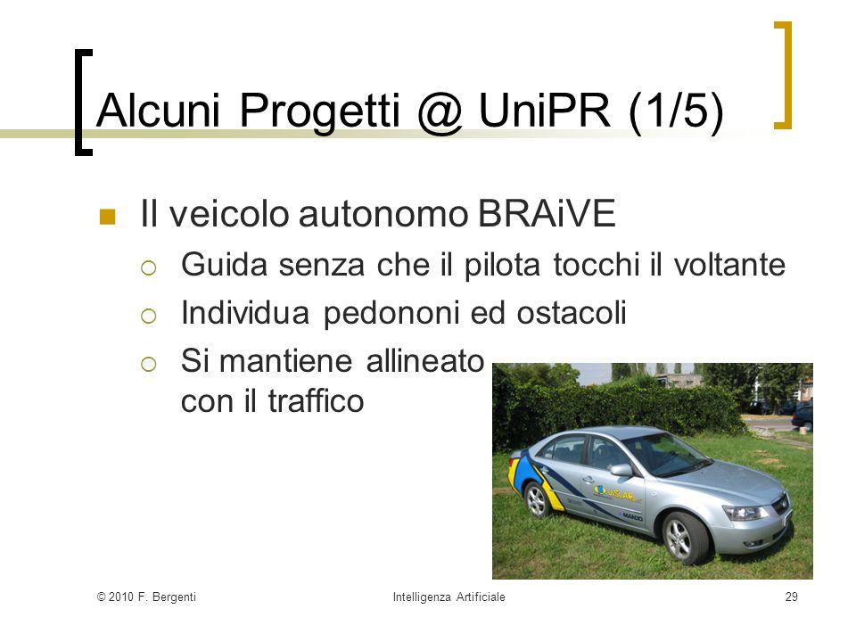 Alcuni Progetti @ UniPR (1/5)