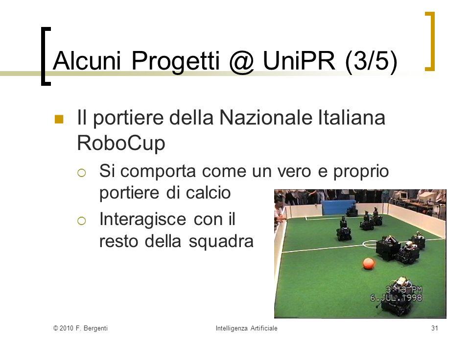 Alcuni Progetti @ UniPR (3/5)