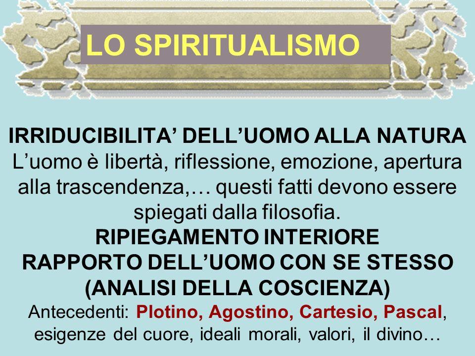 LO SPIRITUALISMO