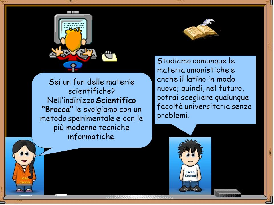 Sei un fan delle materie scientifiche