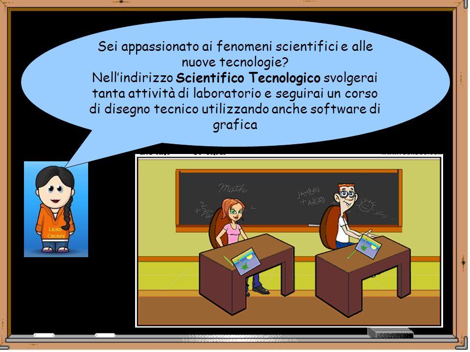 Sei appassionato ai fenomeni scientifici e alle nuove tecnologie