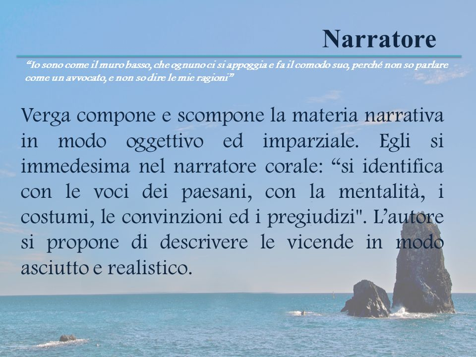 Narratore