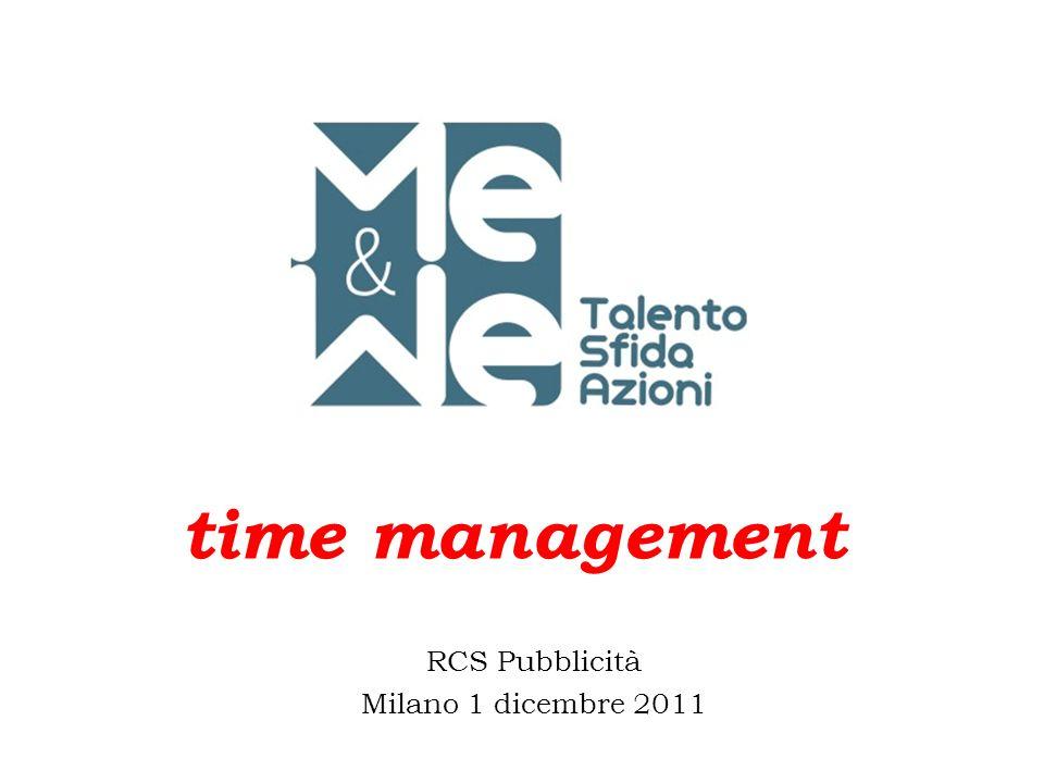 RCS Pubblicità Milano 1 dicembre 2011