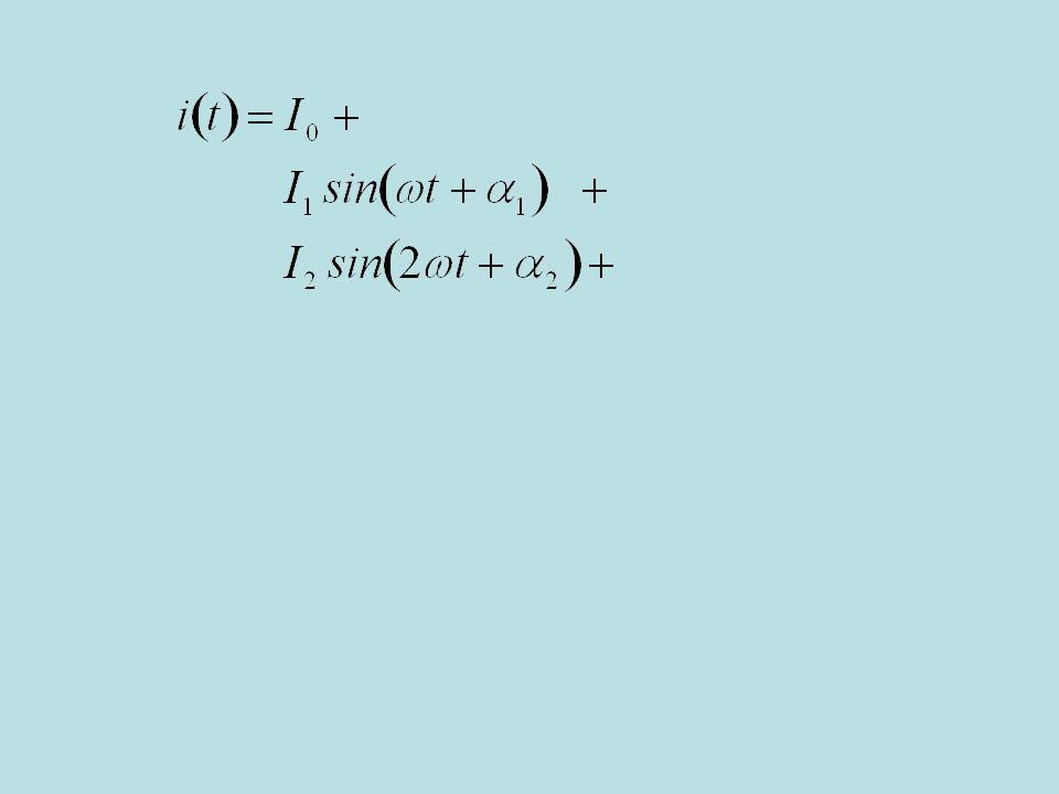un termine sinusoidale di pulsazione pari a due volte quella della sorgente, (cambio slide automatico)