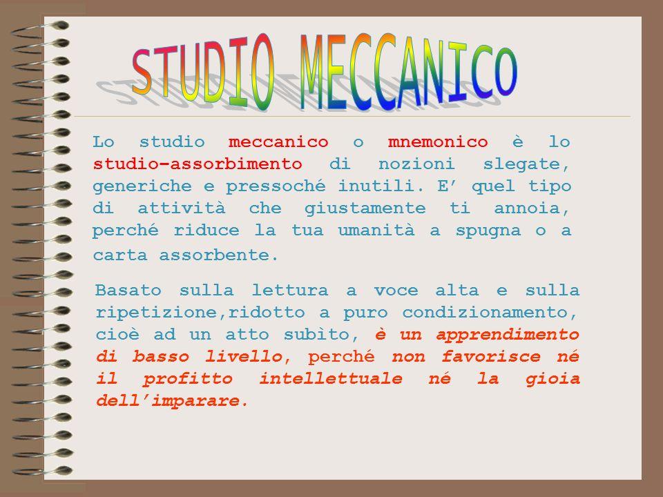 STUDIO MECCANICO