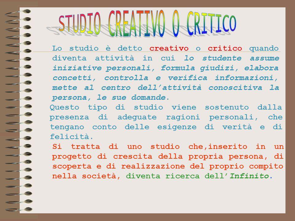 STUDIO CREATIVO O CRITICO