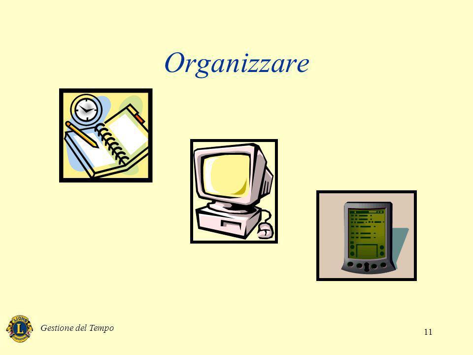 Organizzare Gestione del Tempo