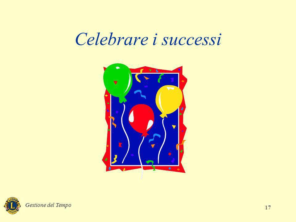 Celebrare i successi Gestione del Tempo