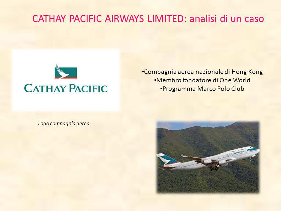CATHAY PACIFIC AIRWAYS LIMITED: analisi di un caso