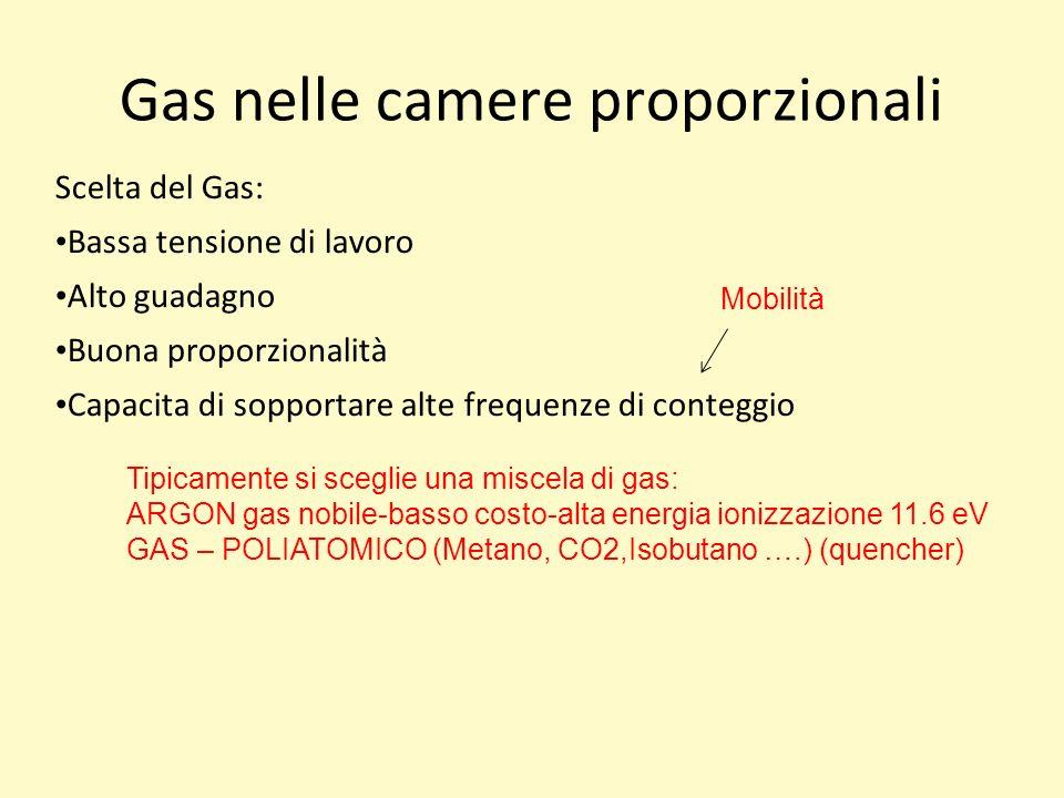 Gas nelle camere proporzionali