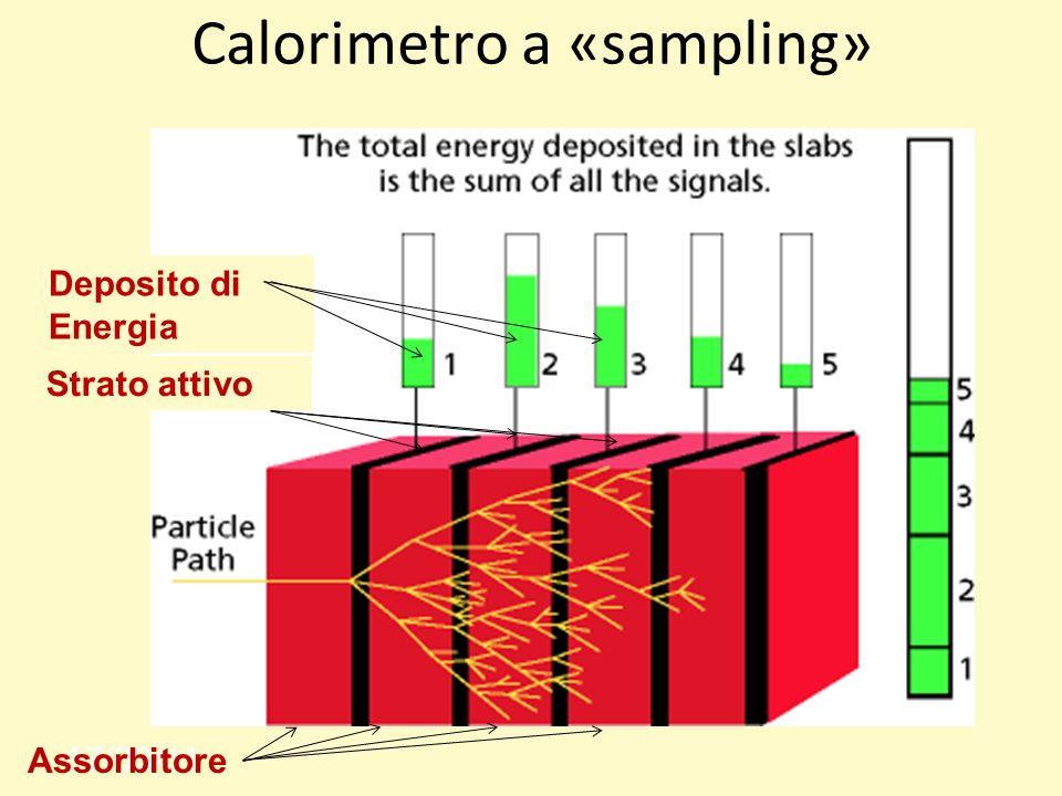 Calorimetro a «sampling»