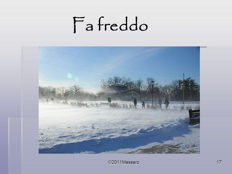 Fa freddo ©2011Massaro