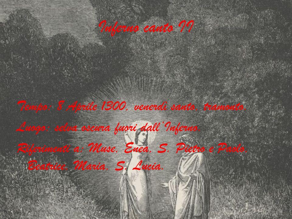 Inferno canto II