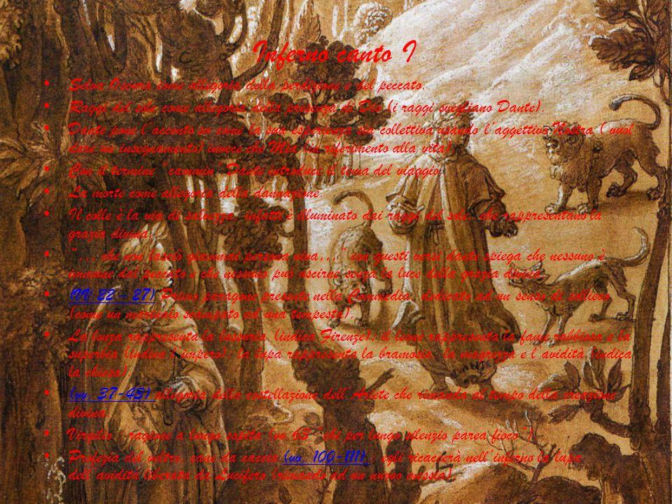 Inferno canto ISelva Oscura come allegoria della perdizione e del peccato.