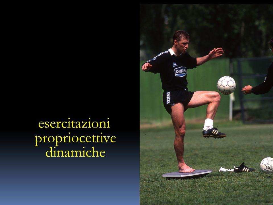 esercitazioni propriocettive dinamiche