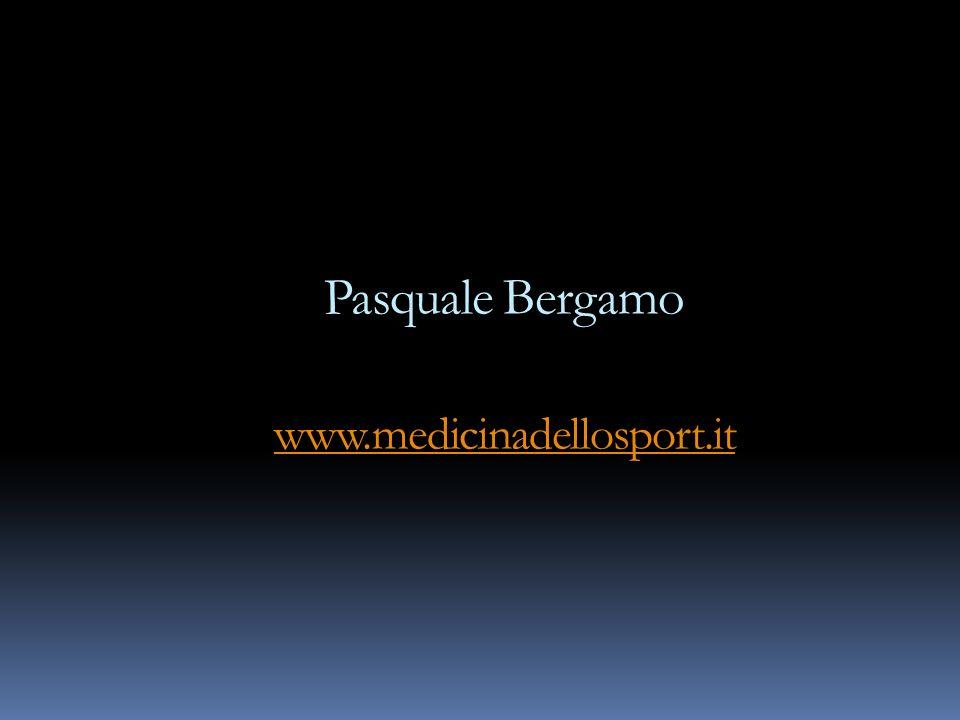 Pasquale Bergamo www.medicinadellosport.it