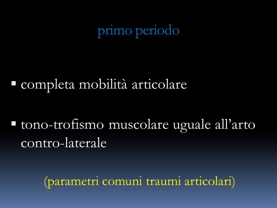 (parametri comuni traumi articolari)