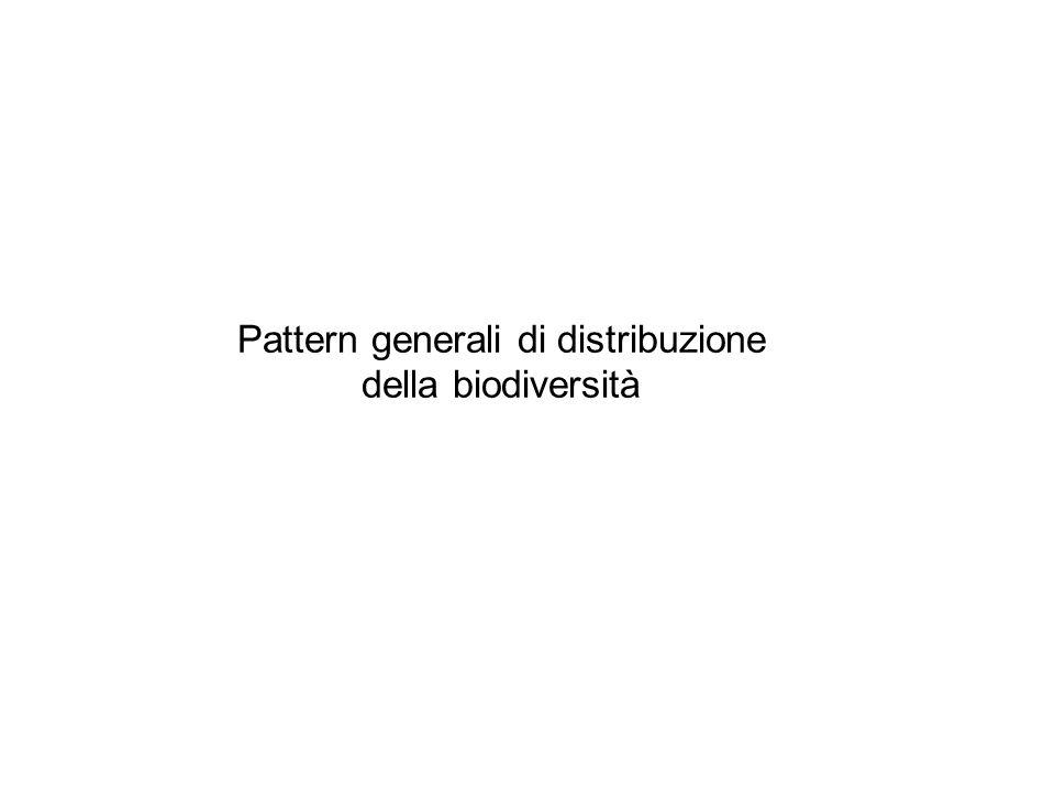 Pattern generali di distribuzione