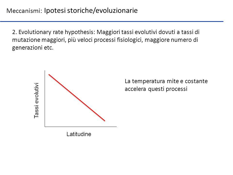 Meccanismi: Ipotesi storiche/evoluzionarie