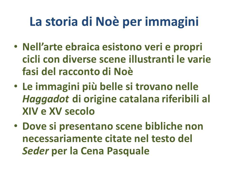 La storia di Noè per immagini