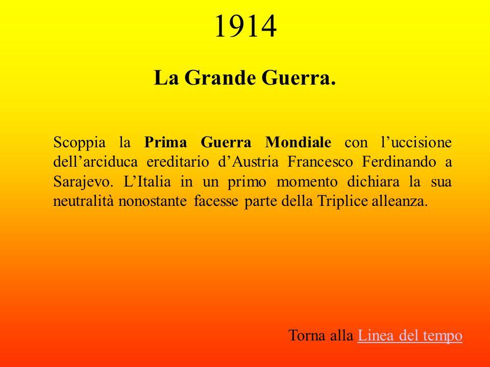 1914 La Grande Guerra.