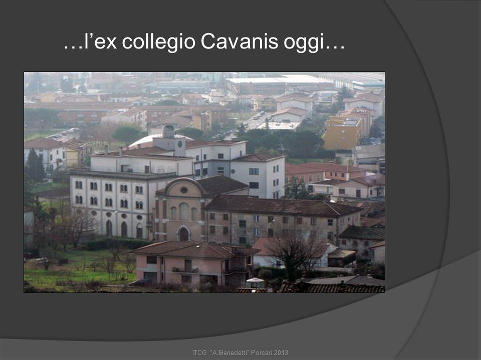 …l'ex collegio Cavanis oggi…