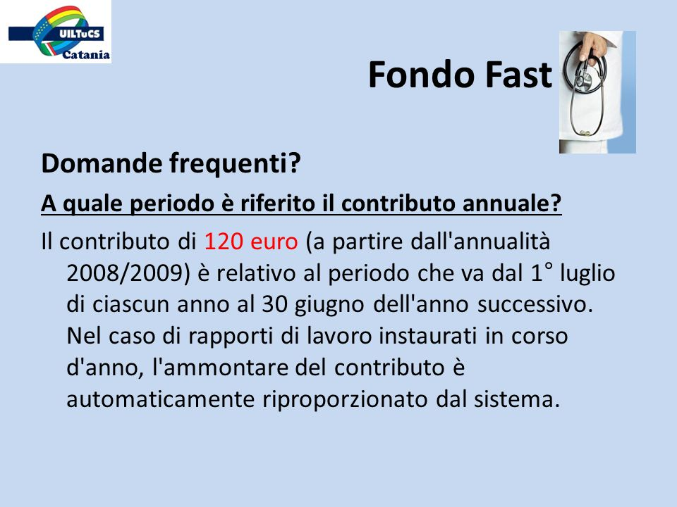 Fondo Fast Domande frequenti