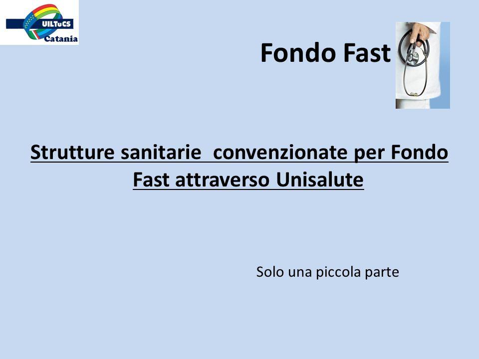 Strutture sanitarie convenzionate per Fondo Fast attraverso Unisalute