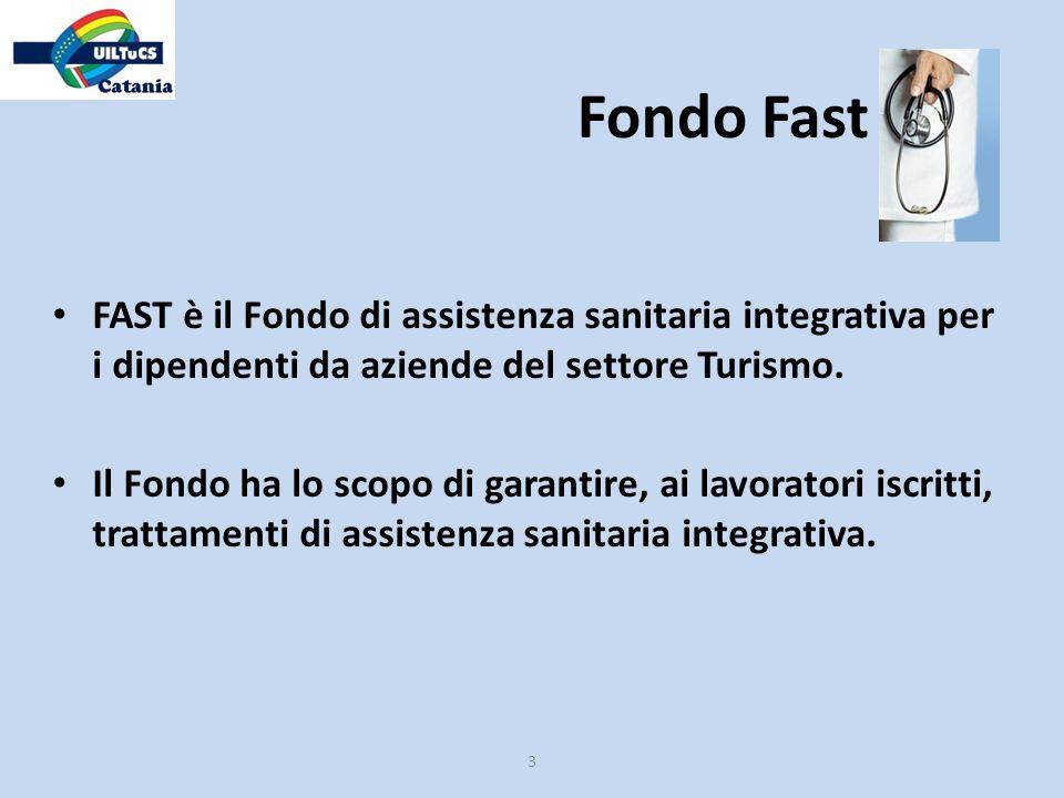 Fondo Fast FAST è il Fondo di assistenza sanitaria integrativa per i dipendenti da aziende del settore Turismo.
