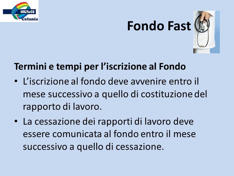 Fondo Fast Termini e tempi per l'iscrizione al Fondo