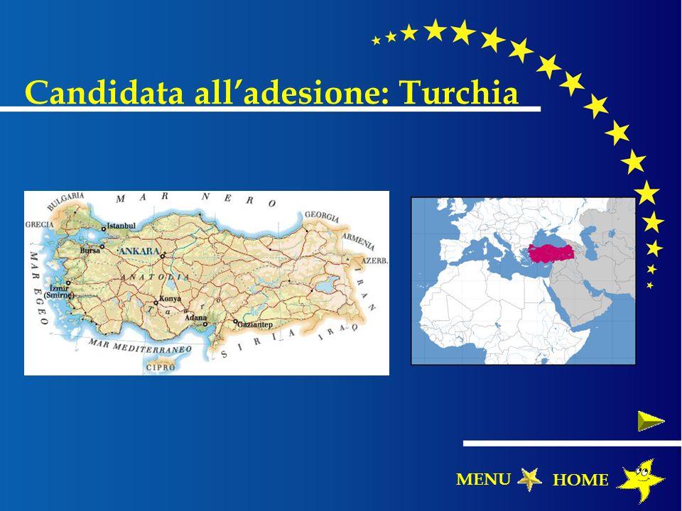 Candidata all'adesione: Turchia