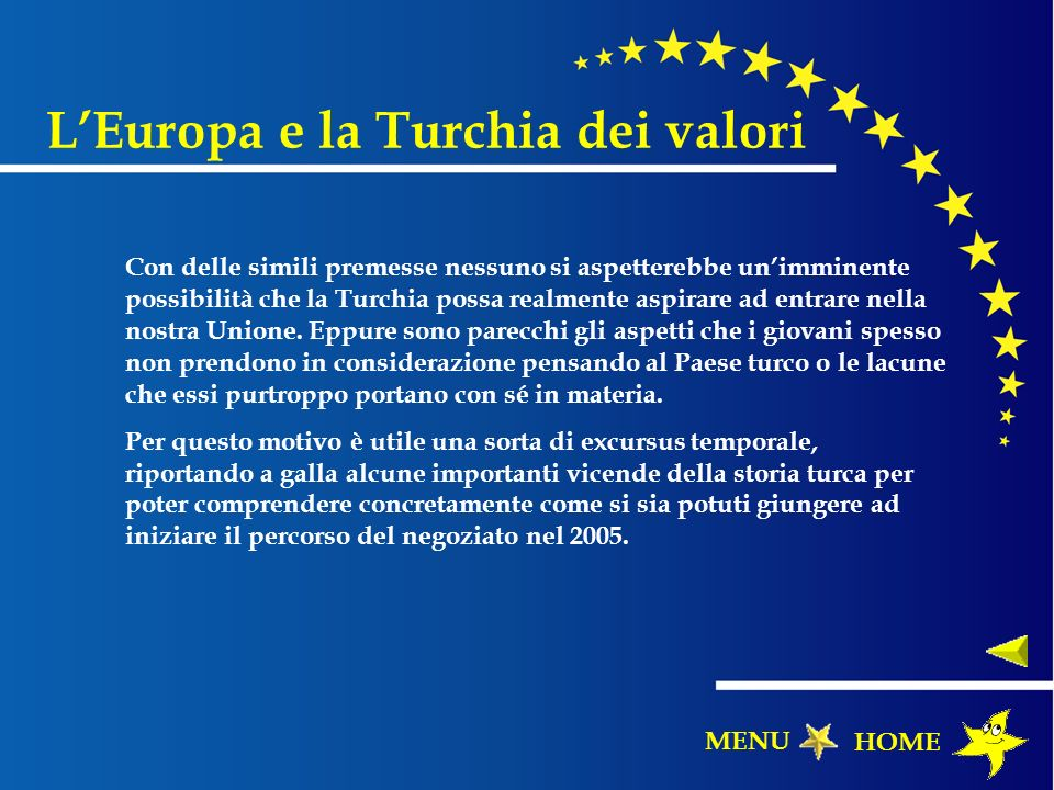 L'Europa e la Turchia dei valori