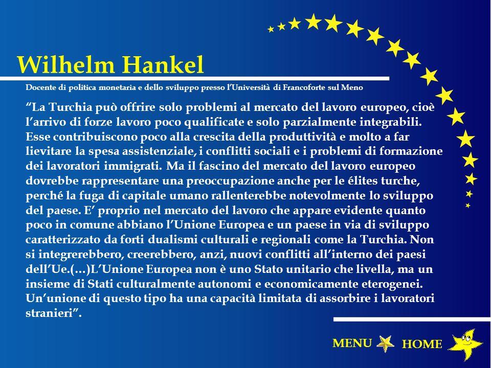 Wilhelm Hankel Docente di politica monetaria e dello sviluppo presso l'Università di Francoforte sul Meno.