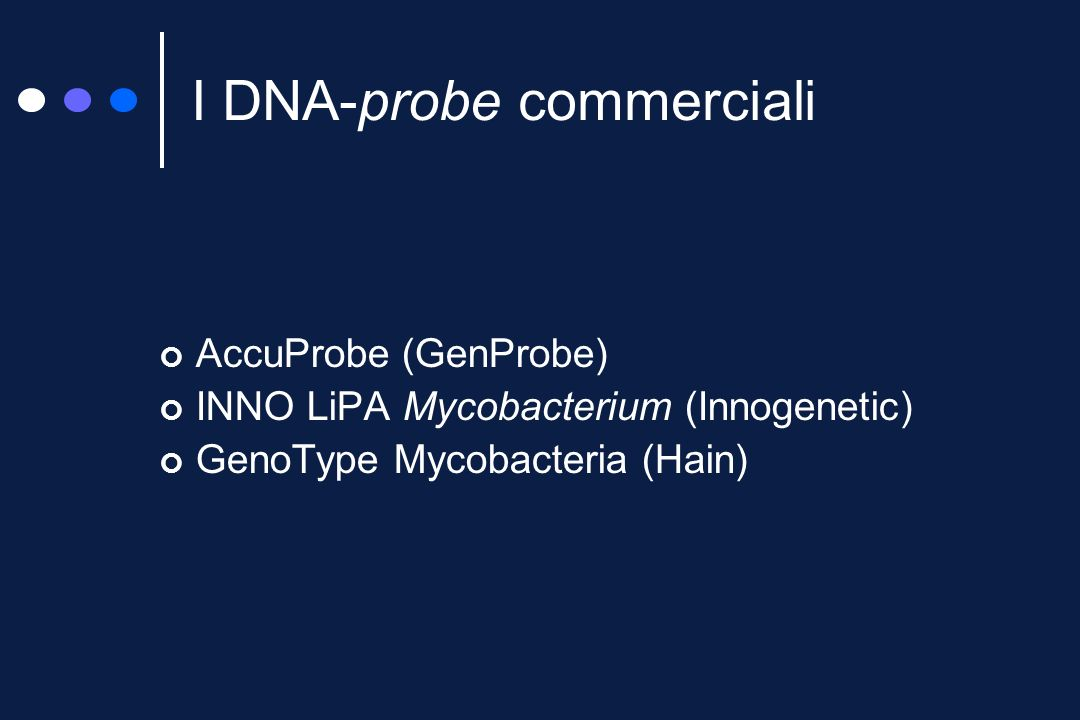 I DNA-probe commerciali