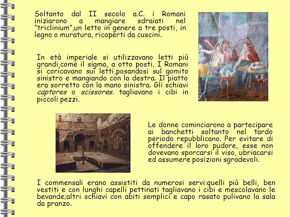 Soltanto dal II secolo a. C
