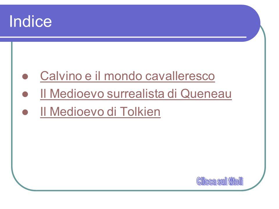 Indice Calvino e il mondo cavalleresco