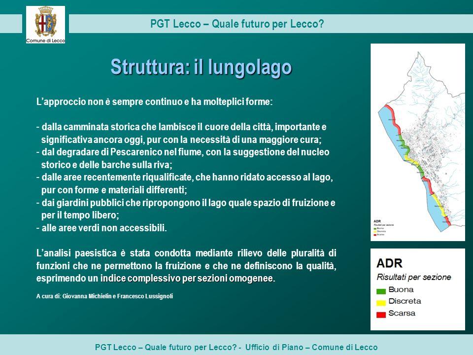 PGT Lecco – Quale futuro per Lecco Struttura: il lungolago