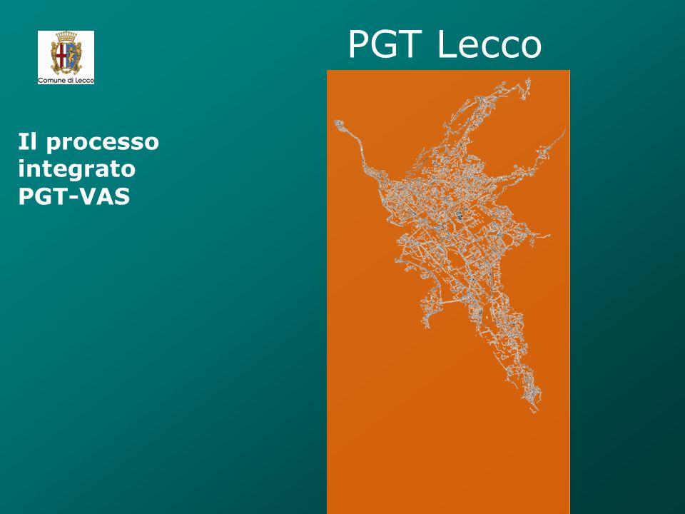 PGT Lecco Il processo integrato PGT-VAS