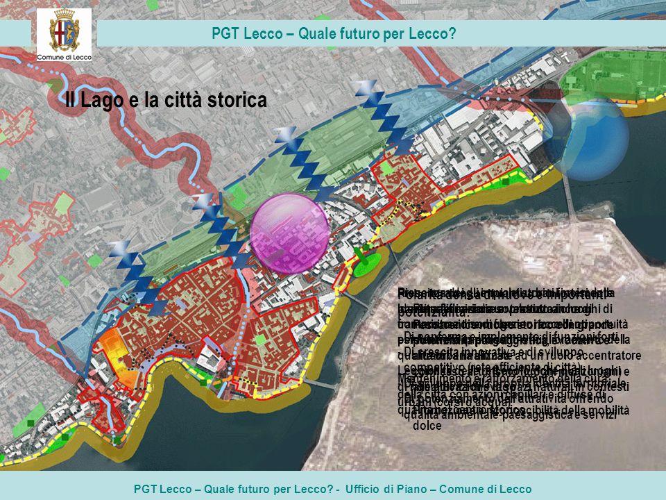PGT Lecco – Quale futuro per Lecco Il Lago e la città storica