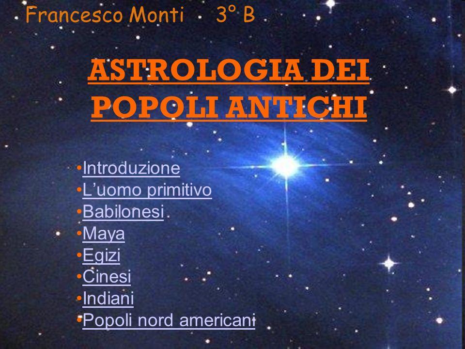 ASTROLOGIA DEI POPOLI ANTICHI