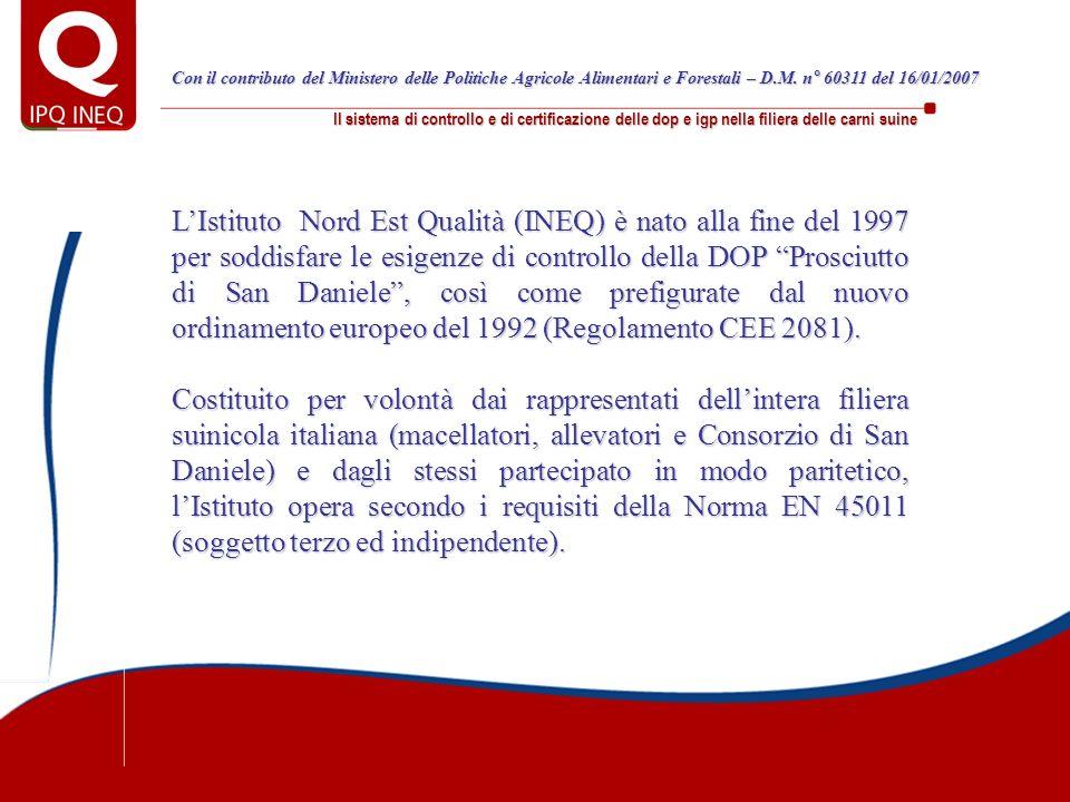 Con il contributo del Ministero delle Politiche Agricole Alimentari e Forestali – D.M. n° 60311 del 16/01/2007