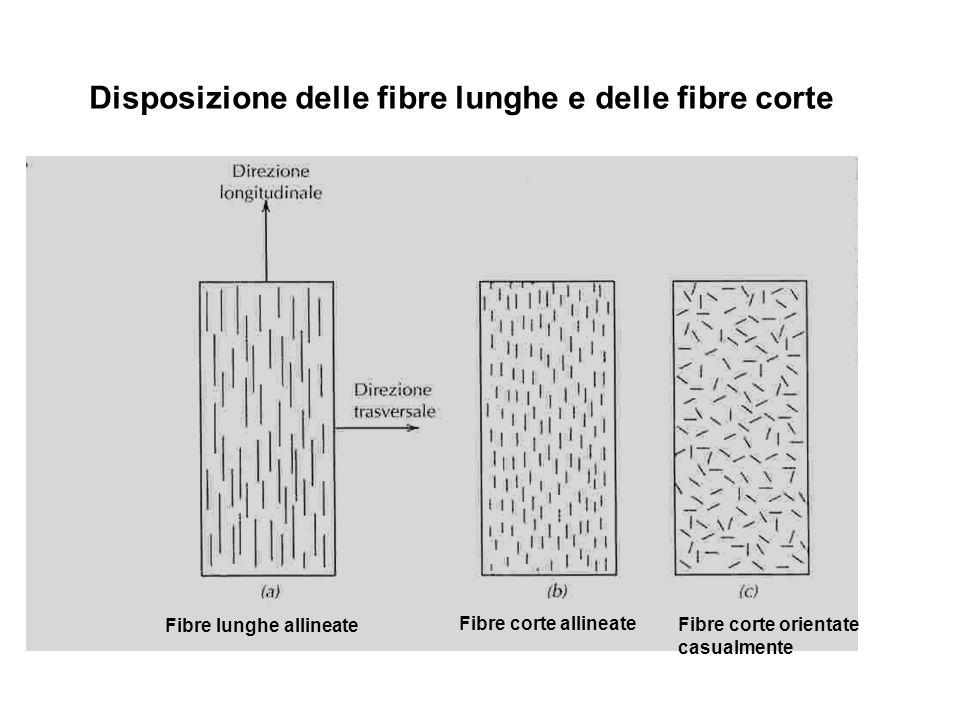 Disposizione delle fibre lunghe e delle fibre corte